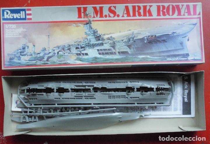 HMS ARK ROYAL PORTAVIONES BRITÁNICO. REVELL ESCALA 1/720 MODELO NUEVO (Juguetes - Modelismo y Radiocontrol - Maquetas - Barcos)
