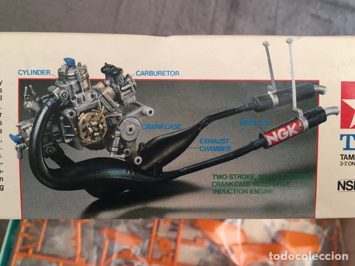 Maquetas: HONDA NSR 250 REPSOL (Cardus) 1:12 TAMIYA 14059 maqueta moto GP CARLOS CARDUS - Foto 2 - 221744646
