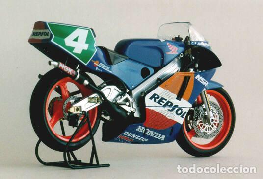 Maquetas: HONDA NSR 250 REPSOL (Cardus) 1:12 TAMIYA 14059 maqueta moto GP CARLOS CARDUS - Foto 8 - 221744646
