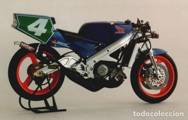 Maquetas: HONDA NSR 250 REPSOL (Cardus) 1:12 TAMIYA 14059 maqueta moto GP CARLOS CARDUS - Foto 9 - 221744646