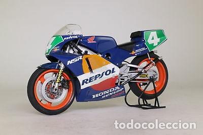 Maquetas: HONDA NSR 250 REPSOL (Cardus) 1:12 TAMIYA 14059 maqueta moto GP CARLOS CARDUS - Foto 11 - 221744646