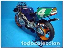 Maquetas: HONDA NSR 250 REPSOL (Cardus) 1:12 TAMIYA 14059 maqueta moto GP CARLOS CARDUS - Foto 12 - 221744646