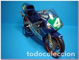 Maquetas: HONDA NSR 250 REPSOL (Cardus) 1:12 TAMIYA 14059 maqueta moto GP CARLOS CARDUS - Foto 13 - 221744646