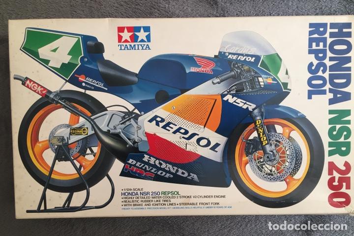 HONDA NSR 250 REPSOL (CARDUS) 1:12 TAMIYA 14059 MAQUETA MOTO GP CARLOS CARDUS (Juguetes - Modelismo y Radiocontrol - Maquetas - Coches y Motos)