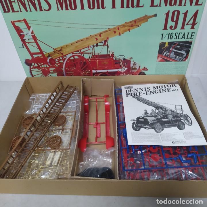 Maquetas: Dennis motor fire engine 1914 escala 1/16. Bandai 1972. Primer modelo. Completo - Foto 4 - 221775817