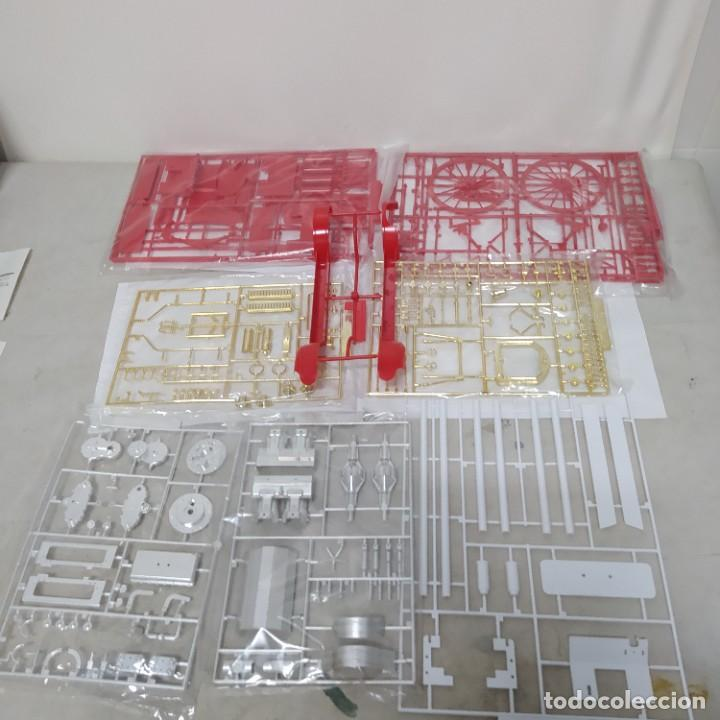 Maquetas: Dennis motor fire engine 1914 escala 1/16. Bandai 1972. Primer modelo. Completo - Foto 6 - 221775817