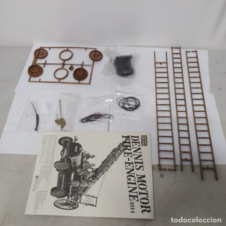 Maquetas: Dennis motor fire engine 1914 escala 1/16. Bandai 1972. Primer modelo. Completo - Foto 7 - 221775817