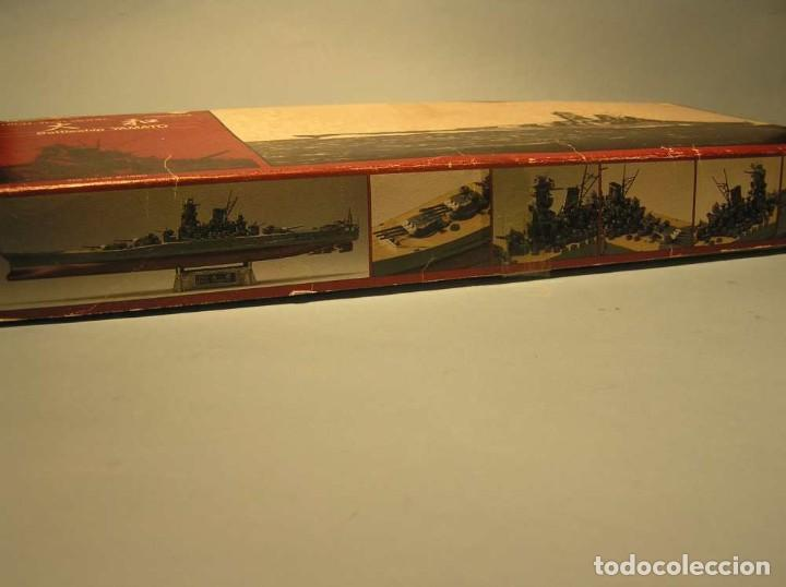 Maquetas: Acorazado YAMATO - Gunze Sangyo (Metal y fotograbados) - Foto 2 - 221786991