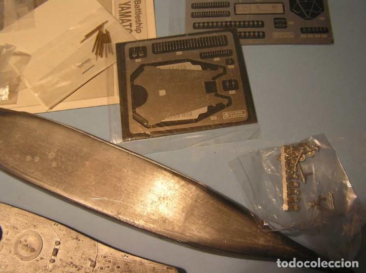 Maquetas: Acorazado YAMATO - Gunze Sangyo (Metal y fotograbados) - Foto 4 - 221786991