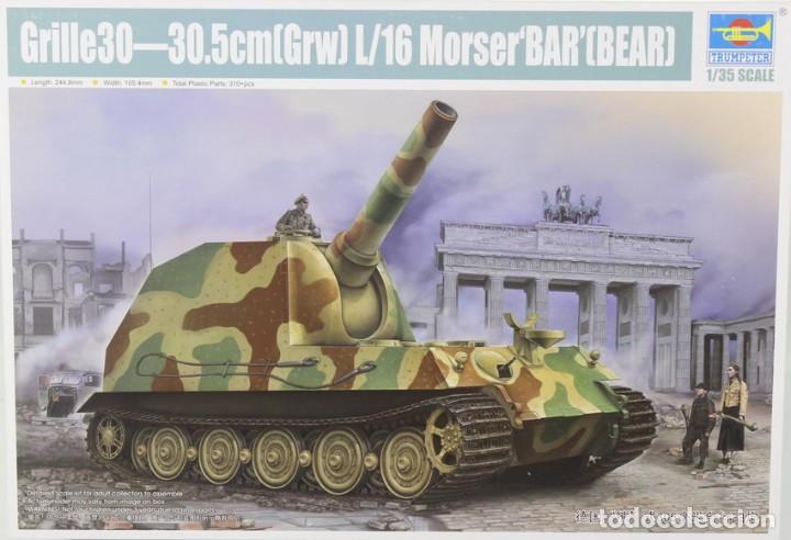 MAQUETA VEHÍCULO GRILLE 30, 30.5CM GRW L/16 MORSER 'BÄR' – BEAR, REF. 09535, 1/35, TRUMPETER (Juguetes - Modelismo y Radiocontrol - Maquetas - Militar)