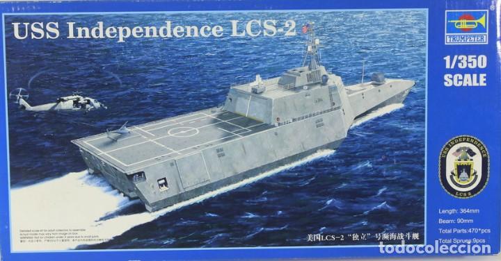 MAQUETA BARCO USS INDEPENDENCE LCS-2, REF. 04548, 1/350, TRUMPETER (Juguetes - Modelismo y Radiocontrol - Maquetas - Barcos)