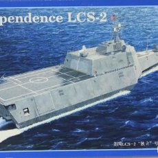 Maquetas: MAQUETA BARCO USS INDEPENDENCE LCS-2, REF. 04548, 1/350, TRUMPETER. Lote 221840606