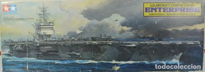 MAQUETA BARCO PORTAAVIONES USS ENTERPRISE CNV-65, REF. 7307, 1/350, TAMIYA (Juguetes - Modelismo y Radiocontrol - Maquetas - Barcos)