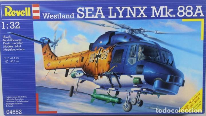 MAQUETA HELICÓPTERO WESTLAND SEA LYNX MK. 88 A, REF. 04652, 1/32, REVELL (Juguetes - Modelismo y Radio Control - Maquetas - Aviones y Helicópteros)