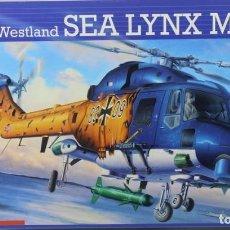 Maquetas: MAQUETA HELICÓPTERO WESTLAND SEA LYNX MK. 88 A, REF. 04652, 1/32, REVELL. Lote 221841575