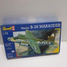 Maquetas: MAQUETA MARTIN B-26 MARAUDER ( REVELL) ESCALA 1/72 NUEVA. Lote 221883827