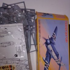 Maquetas: PM MODELS HAWKER FURY 1/72. Lote 221903480