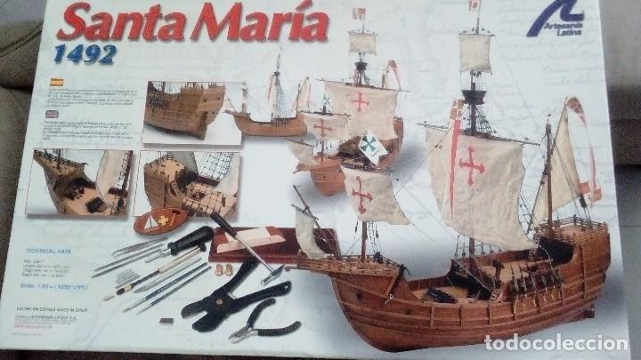 SANTA MARIA DE ARTESANÍA LATINA (Juguetes - Modelismo y Radiocontrol - Maquetas - Barcos)