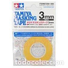 Maquetas: TAMIYA - CINTA DE ENMASCARAR 3MM 87208. Lote 221947060