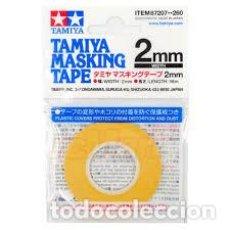 Maquetas: TAMIYA - CINTA DE ENMASCARAR 2MM 87207. Lote 221947406