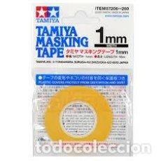Maquetas: TAMIYA - CINTA DE ENMASCARAR 1MM 87206. Lote 221947586