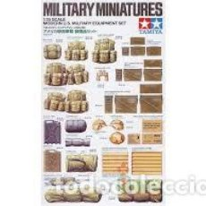 Maquetas: TAMIYA - MODERN U.S MILITARY EQUIPMENT SET 1/35 35266. Lote 221948637