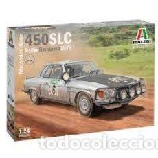 Maquetas: ITALERI - MERCEDES BENZ 450 SLC RALLYE BANDAMA 1979 1/24 3632. Lote 221949501