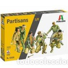 Maquetas: ITALERI - PARTISANS 1/35 6556. Lote 221949730