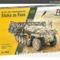 Maquetas: ITALERI - STUKA ZU FUSS 1/72 7080. Lote 221949906