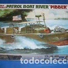 Maquetas: TAMIYA - PBR 31 MKII PATROL BOAT RIVER PIBBER 1/35 35150. Lote 221950743