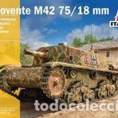Maquetas: ITALERI - SEMOVENTE M42 DA 75/18 1/35 6569. Lote 221951348