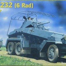 Maquetas: MAQUETA VEHÍCULO BLINDADO SDKFZ 232 (6 RAD), RADIO, REF. 35-005, 1/35, HISTORIC PLASTIC MODELS. Lote 221971836