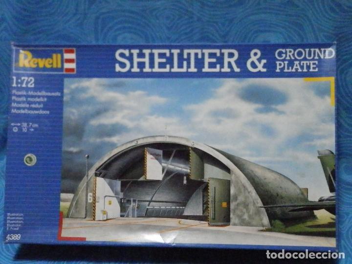 MAQUETA SHELTER & GROUND PLATE REVELL ESCALA 1:72 (Juguetes - Modelismo y Radio Control - Maquetas - Aviones y Helicópteros)