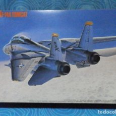 Maquetas: MAQUETA AVIÓN F-14 A TOMCAT ESCALA 1:72 HASEGAWA HOBBY KITS. Lote 222055800