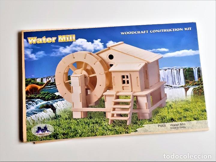 WOODCRAFT CONSTRUCTION KIT DE MADERA - 37 X 23.CM NUEVO (Juguetes - Modelismo y Radiocontrol - Maquetas - Construcciones)