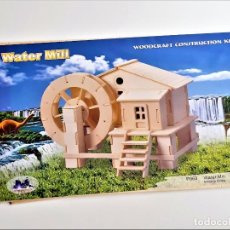 Maquetas: WOODCRAFT CONSTRUCTION KIT DE MADERA - 37 X 23.CM NUEVO. Lote 222083530