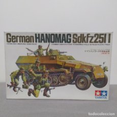 Maquetas: GERMAN HANOMAG SDKFZ25I/I TAMIYA 1/35. NUEVO, BOLSAS SIN ABRIR.. Lote 222122393