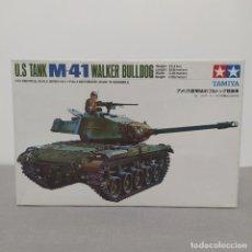 Maquetas: U. S. TANK M41 WALKER BULLDOG TAMIYA 1/35. NUEVO, BOLSAS SIN ABRIR.. Lote 222123450
