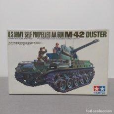 Maquetas: U. S ARMY SELF PROPELLED AA GUNM 42 DUSTER TAMIYA 1/35. NUEVO, BOLSAS SIN ABRIR.. Lote 222123888