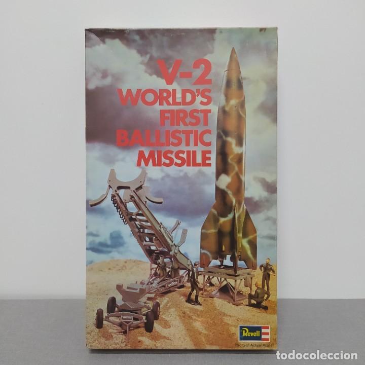 V-2 WORLDS FIRST BALLISTIC MISSILE REVELL 1/69. NUEVO, BOLSAS SIN ABRIR. (Juguetes - Modelismo y Radiocontrol - Maquetas - Militar)