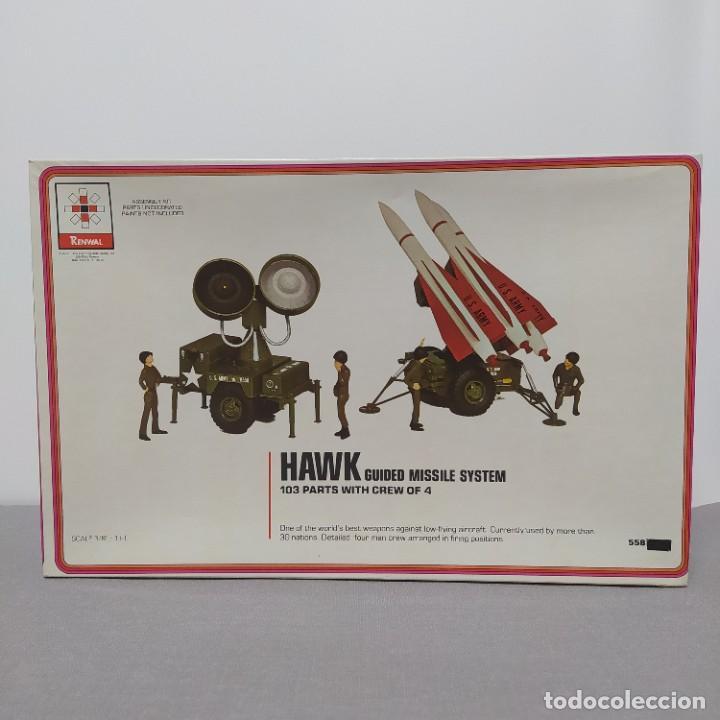 HAWK GUIDED MISSILE SYSTEM RENWAL SCALE 3/8. NUEVO SIN MONTAR. (Juguetes - Modelismo y Radiocontrol - Maquetas - Militar)