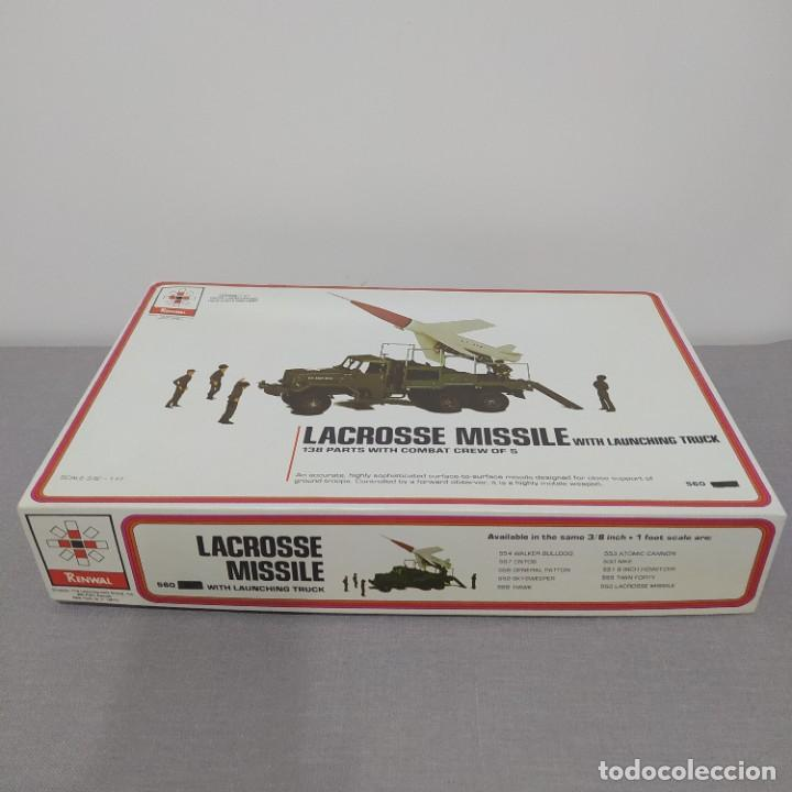 Maquetas: Lacrosse missile with launching truck renwal scale 3/8. Nuevo sin montar. - Foto 2 - 222126707