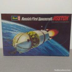 Maquetas: RUSSIAN FIRST SPACECRAFT: VOSTOK 1/24 REVELL. 1° EDICIÓN 1969 NUEVO SIN MONTAR.. Lote 222128067