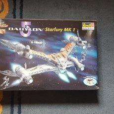 Maquetas: NAVE STARFURY BABYLON 5 1/72. Lote 222228412