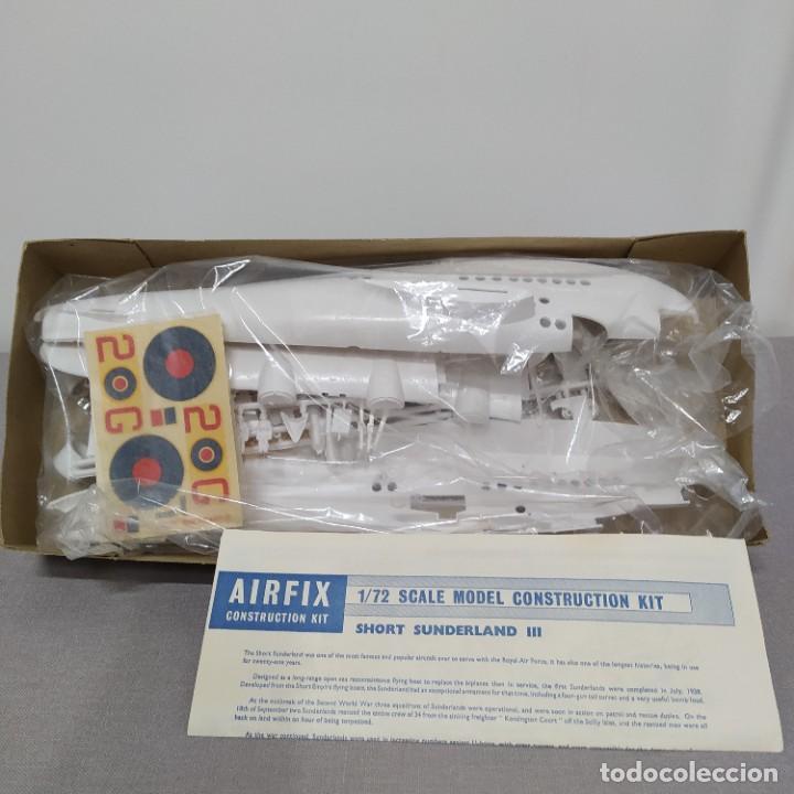 Maquetas: Sunderland III airfix escala 1/72 Nuevo, sin montar.1964 - Foto 2 - 222321200