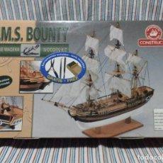 Maquetas: MAQUETA H.M.S. BOUNTY, CONSTRUCTO TOYLAND S.A., ESCALA 1:110, SIN ESTRENAR. Lote 222322152