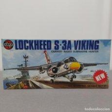 Maquetas: LOCKHEED S-3A VIKING AIRFIX ESCALA 1/72 NUEVO, SIN MONTAR.1978. Lote 222325722