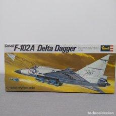 Maquetas: CONVAIR F-102A DELTA DAGGER REVELL ESCALA 1/78 NUEVO, CAJA PRECINTADA.1968. Lote 222328103
