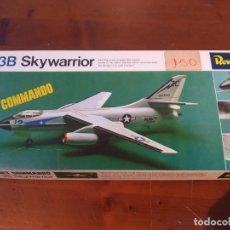 Maquetas: A-3B SKYWARRIOR JET COMANDO REVELL ESCALA 1/72 NUEVO, SIN MONTAR.. Lote 222331720