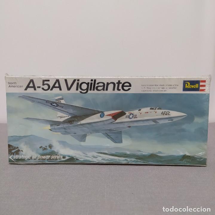 A-5A VIGILANTE REVELL ESCALA 1/82 NUEVO CAJA PRECINTADA1968 (Juguetes - Modelismo y Radio Control - Maquetas - Aviones y Helicópteros)